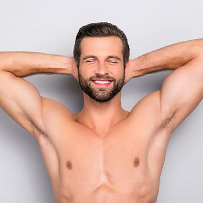 Ganzheitliche Schönheitsleistungen: Männer
