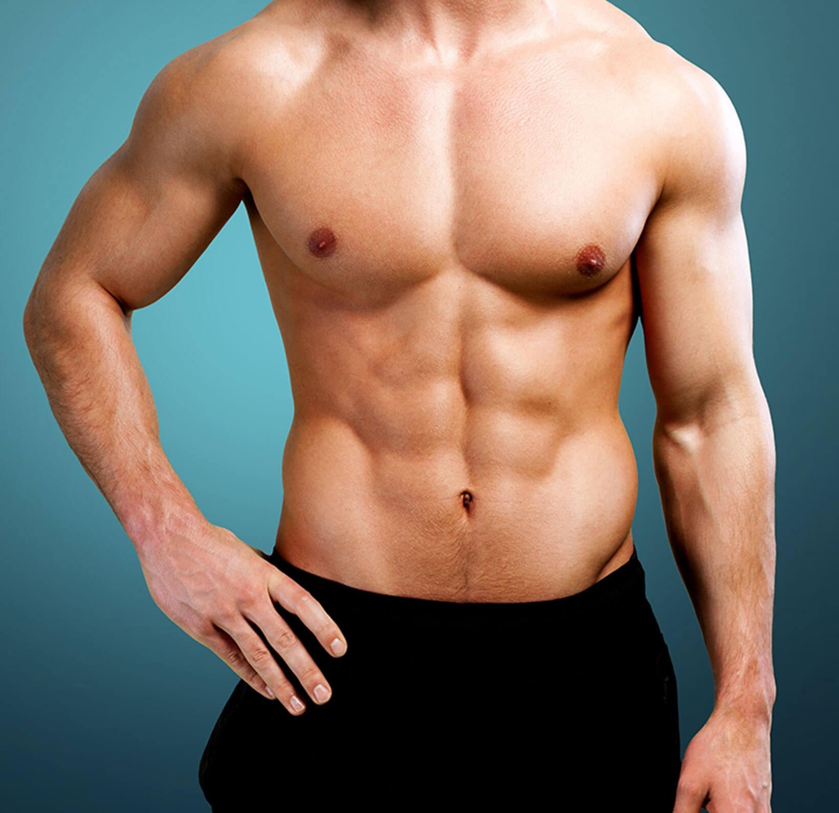 Schönheitschirurgie - definierter Körper